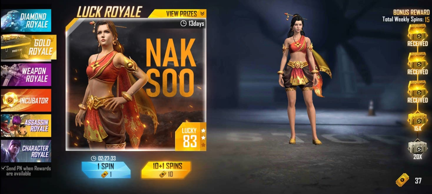 Event-Luck-Royale