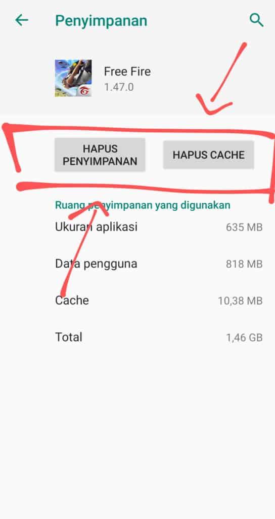 Hapus-Data-dan-Cache-Aplikasi-Free-Fire