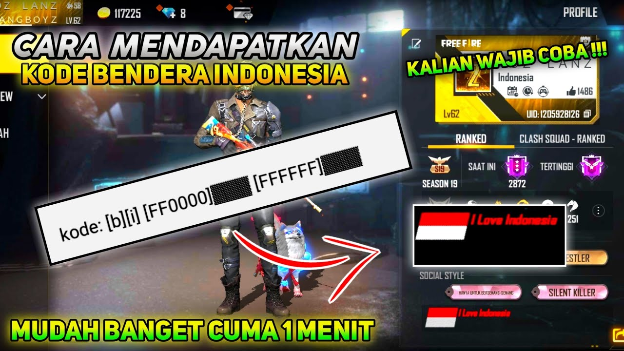 Kode-Bio-Free-Fire-Bendera-Indonesia
