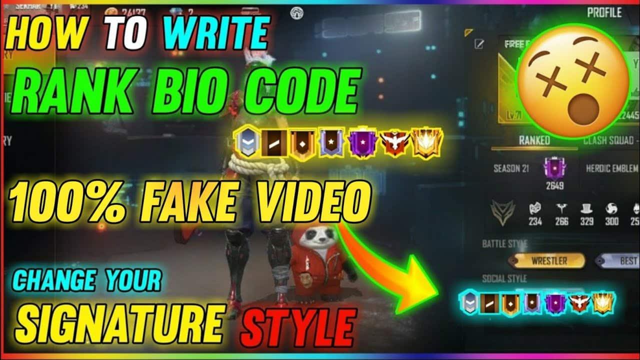Kode-Bio-Free-Fire-Pangkat-Rank