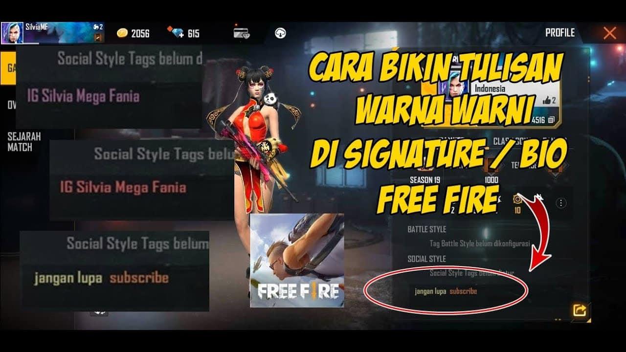 Kode-Bio-Free-Fire-Warna