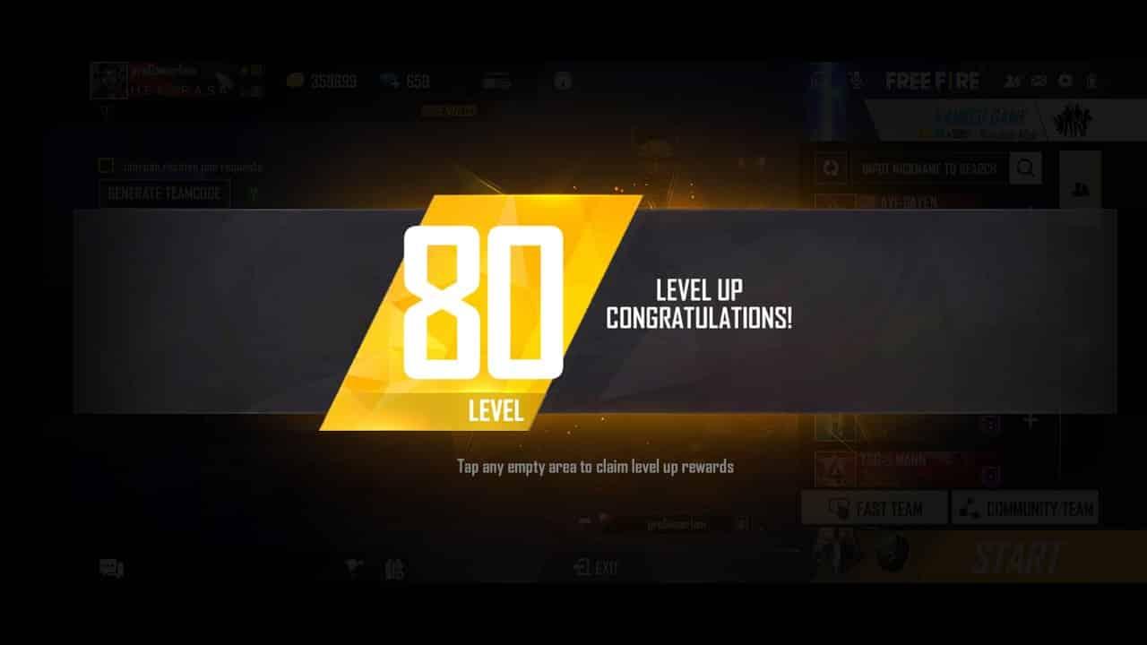 Level-akun-game-Free-Fire
