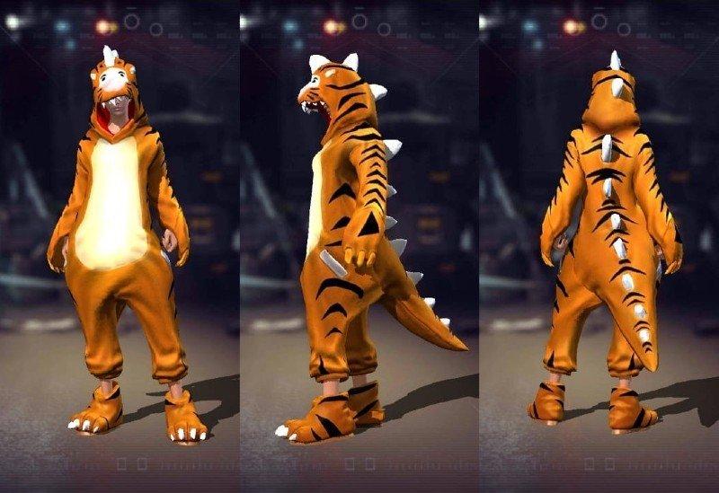 Tiger-Suit-dan-Chicken-Suit